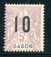 GABUN 1912 Yvert 78A ** POSTFRISCH RARITÄT (Z3362