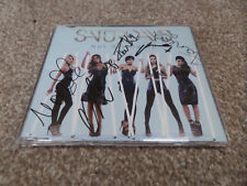 The Saturdays - Not Giving Up 4 Track 2014 CD SINGLE *SIGNED* RARE! NEW! Frankie
