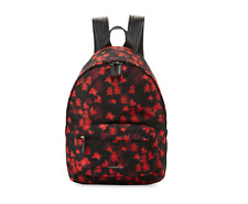 GIVENCHY Backpack Resort '18 Fall Collection Calfskin Floral Pattern $1320 Celeb