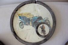 Vintage Car Metal Tray with Coasters 1904 Franklin NEW! L#697