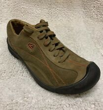 Keen EU Size 38 US Youth 6 Brown Suede Sneakers Lace Up Shoesv