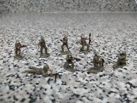 vtg 8 miniatures eko soldiers American Infantry II world War Super Rare OrigPack