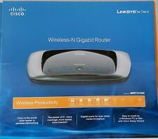 Linksys by Cisco Wireless-N-Gigbit Router, World Leader in wireless Networking