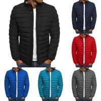 Men's Puffer Bubble Down Jacket Coat Bomber Ultralight Quilted Padded Outwear