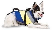 Premier Extreme Fido Float Blue / Yellow Neoprene Dog Life Jacket Size Small