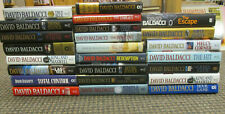 PICK-A-BOOK David Baldacci Lot Fiction Hardback
