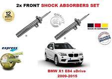 für BMW X1 E84 2009-2015 vorne links + rechts Stoßdämpfer Shocker Set