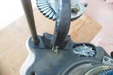 RIBBER MOUNTING/PARKING BRACKET/POST- HARRISON CIRCULAR SOCK KNITTING MACHINE