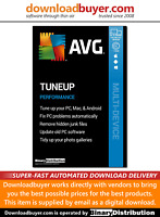 AVG TuneUp 2020 - Unlimited Devices - 1 Year [Download]