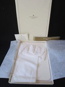 VTG Victoria's Secret White Lace Top Thigh High Stay Up Stockings 1pr M NEW #C