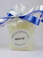 Market III White Candle Wax Tart  Melts Bag of  6 Cubes