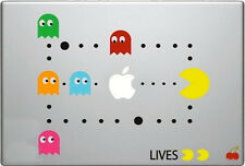 PAC-MAN [Pacman] Laptop Sticker Decal for Macbook or PC [FITS ALL]