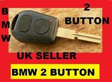 Uncut BMW REMOTE KEY FOB E39 E38 Z3 7 Series 2 BOTTONI