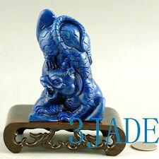 Genuine Lapis Lazuli Carving/Sculpture: Tiger Statue