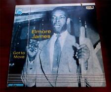 Elmore James   Got To Move   1981   Charly 3242  Blues  UK Import  Vinyl LP   NM