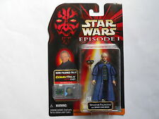 "STAR WARS HASBRO FIGURINE "" SENATOR PALPATINE "" EPISODE 1   MINT IN BOX"