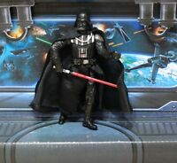STAR WARS FIGURE 2005 ROTS COLLECTION DARTH VADER (LIGHTSABER ATTACK!)