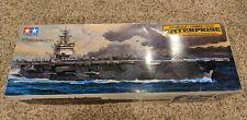 Tamiya 78007 1/350 USS Enterprise Aircraft Carrier Model Kit + Bonus Model Set