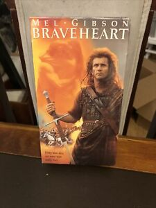 Braveheart (VHS, 1995, 2-Tape Set) New In Plastic- Mel Gibson