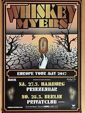WHISKEY MYERS  2017 TOUR + orig.Concert Poster -- Konzert Plakat A1 NEU