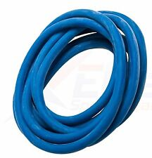 Med / Heavy Pilates Barre 25ft Roll Resistance Exercise TUBING Band BLUE Latex