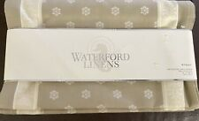 """Waterford Fine Linens Table Runner 14"""" X 90"""" Wyman New"""