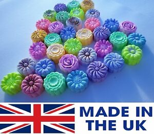 10 x  Flower bath bombs 60g - wedding favours - gifts Made By Juicy Couture