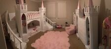 NEW PRINCESS EMILY'S CASTLE LOFT/BUNK BED/INDOOR PLAYHOUSE