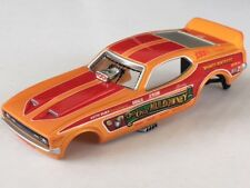 Rare Shirley Muldowney Mustang HO Slot Car Body Fits Auto World 4 Gear Chassis