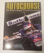 Autocourse 1997-98 Review of Motor Sport Formula 1 Jacques Villeneuve