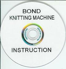 Bond Elite & Classic Knitting Machine Dvd + Extras