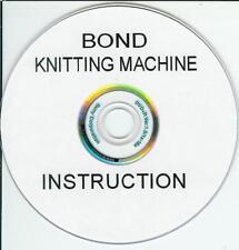 Bond Elite & Classica Macchina per Maglieria DVD + extra