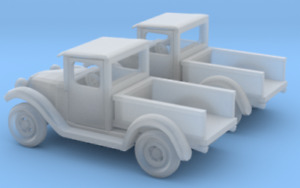 Z Scale 1934 Undec Unfinished Pickup Truck 3D printed NIB