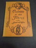 VINTAGE 1926 COLETTE ET SES FRERES JOSETTE  EUGENIE SPINK VIOLET MILLIS