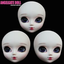 AngelGate OOAK Doll Head with makeup-CINDERELLA  Fixed price