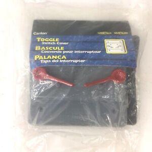 Carlon Non-Metallic Weatherproof Toggle Switch Cover Gray Plastic (New in bag)