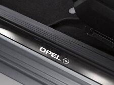 6 x Opel Aufkleber für Einstiegsleisten Vectra Astra Insignia Zafira Emblem Logo