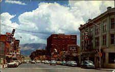 ELY Nevada Street Scene Auto Car Traffic Verkehr USA Amerika Postcard used 1970