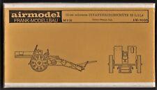 AIRMODEL PRODUCTS AM-1000 - 15cm SCHWERES INFANTERIEGESCHUTZ 33 - 1/35 RESIN KIT