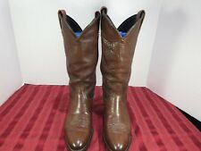 Tony Lama Style 1013 Brown Calf Leather Cowboy Western Boots Women Size 6.5 M