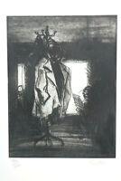 Georg Eisler Wien Grafik Kleiderständer