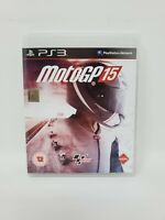 MotoGP 15 (Sony Playstation 3) PAL No Manual Tested and Works