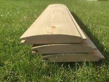 25x125 shiplap/LOGLAP Tanalised Timber Shed Cladding 1m Minimum order 200 metres
