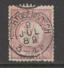 Nvph 30 II met Bossche tanding; datum 9 JUL 89