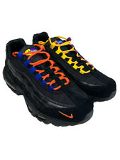 Nike Mens Air Max 95 PRM LA Vs NYC Sneaker Shoes Black/Rush Blue AT8505 001 New