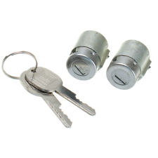 2x Sliver Lockcraft Door Lock Cylinder & 2 Keys For Chevrolet GMC Truck