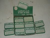 BUKETS Store Display 10 Aspirin Tins Display Tray Kidney Bladder Stimulant