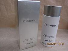 CONTRADICTION WOMEN CALVIN KLEIN 6.7 FL oz / 200 ML Silky Body Lotion Sealed Box