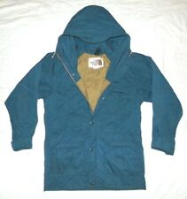 Vintage 80s The North Face Parka Jacket Shell Mens Small Blue - Brown Tag