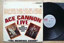 """LP Ace Cannon - Live """"The Memphis Sound"""" - US Hi Records"""